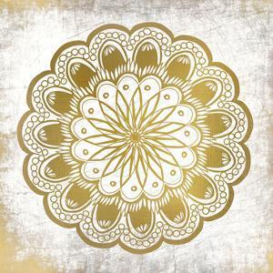 Gold Mandala 1 by Kimberly Allen