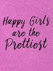 Happy Girls Pink by Kimberly Allen