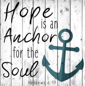 Hope is an Anchor by Kimberly Allen
