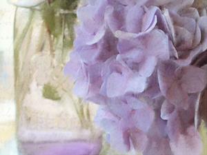 Hydrangea Jar by Kimberly Allen