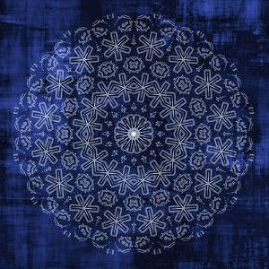 Indigo Mandala 1 by Kimberly Allen