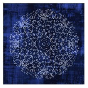 Indigo Mandala 3 by Kimberly Allen