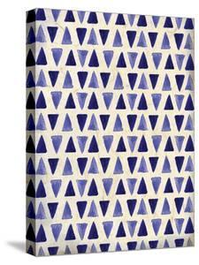 Indigo Triangles by Kimberly Allen