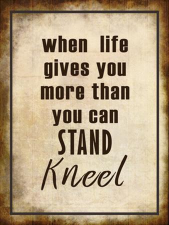 Kneel by Kimberly Allen