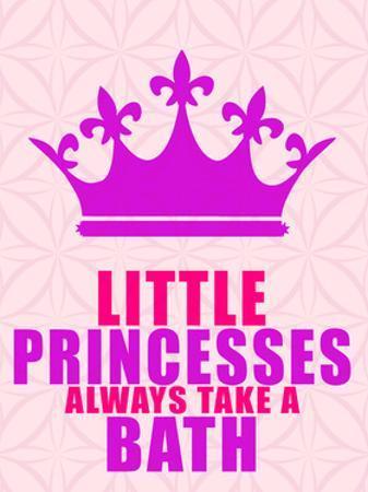 Little Princesses Bath by Kimberly Allen