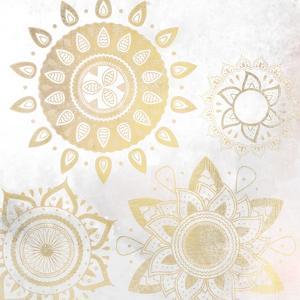 Mandala Golden 1 by Kimberly Allen