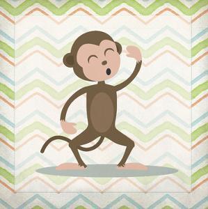 Monkey Time by Kimberly Allen