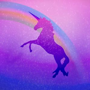 Ombre Unicorn 2 by Kimberly Allen