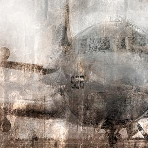 Oxidized Aircraft by Kimberly Allen