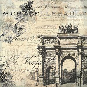 Paris Carte Postale 2 by Kimberly Allen