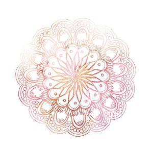 Pink Mandala 1 by Kimberly Allen