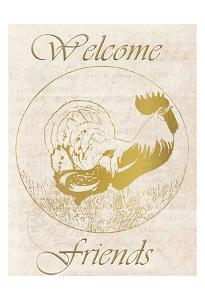Rooster Welcome Friends by Kimberly Allen