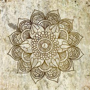 Splatter Mandala 2 by Kimberly Allen
