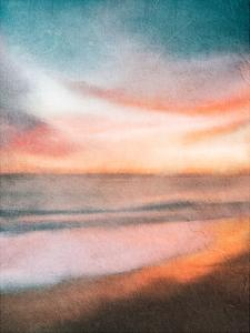 Sunset at the Beach by Kimberly Allen