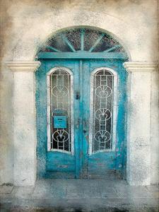 Teal Doorway by Kimberly Allen