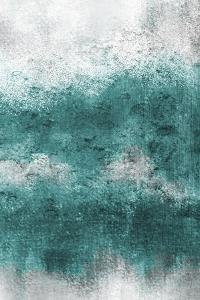 Teal Tones Panel D by Kimberly Allen