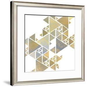 Triangle Gold 1 by Kimberly Allen