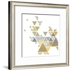 Triangle Gold 2 by Kimberly Allen