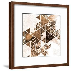 Triangles in Copper 1 by Kimberly Allen
