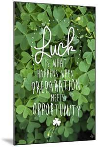 Luck is by Kimberly Glover