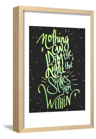 Nothing Can Dim the Light by Kimberly Glover