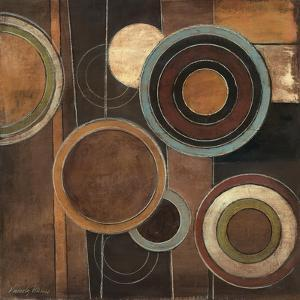 Abstract Circles II by Kimberly Poloson