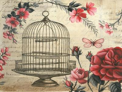 Birdcage & Blossoms by Kimberly Poloson