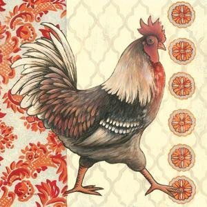 Bohemian Rooster I by Kimberly Poloson