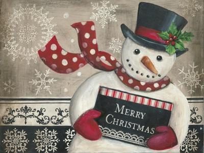 Christmas Snowman by Kimberly Poloson