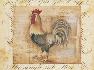 Rustic Farmhouse Rooster II by Kimberly Poloson