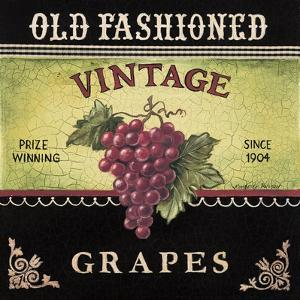 Vintage Grapes by Kimberly Poloson