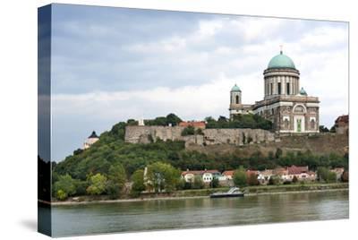 Exterior View of Esztergom Basilica from Danube River