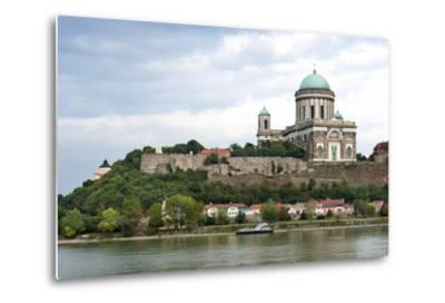Exterior View of Esztergom Basilica from Danube River