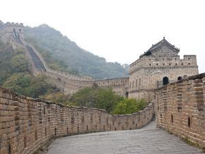 Great Wall of China, UNESCO World Heritage Site, Mutianyu, China, Asia by Kimberly Walker