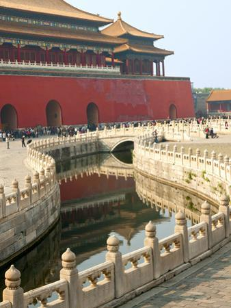 River of Gold, Forbidden City, Beijing, China, Asia