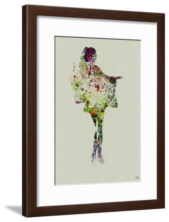 Kimono Dancer 2-NaxArt-Framed Art Print