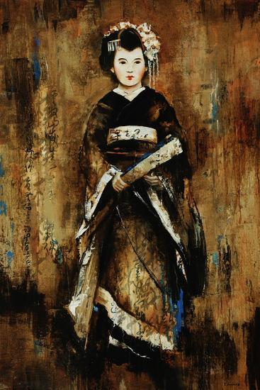 Kimono-Sydney Edmunds-Giclee Print