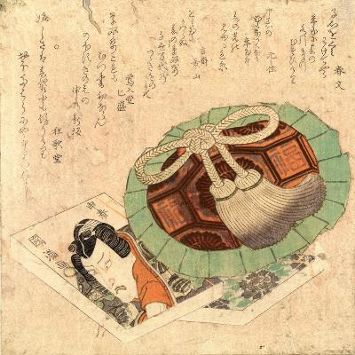 Kinchaku to Kusazoshi--Giclee Print