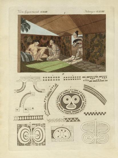 Kind of Tattooing in Nurahiwa--Giclee Print