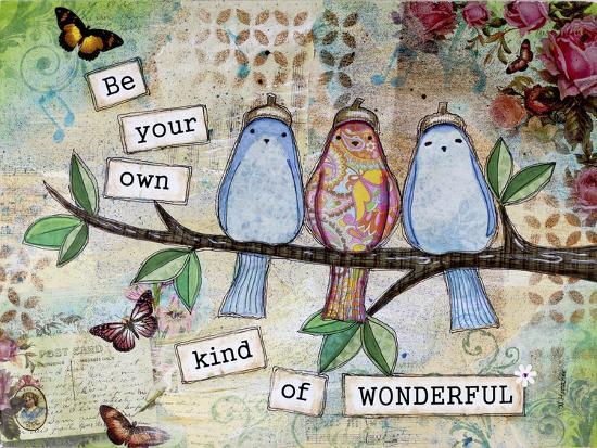Kind of Wonderful-Let Your Art Soar-Giclee Print