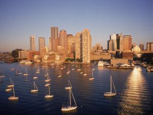 Boston Skyline, MA by Kindra Clineff