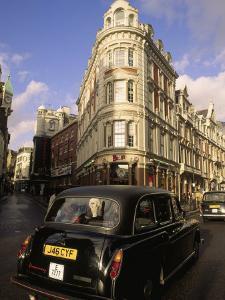 Car on London Street, England by Kindra Clineff