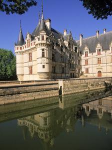 Chateau D'Azay-Le-Rideau, Loire Valley, France by Kindra Clineff