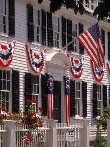 Fourth of July, Main Street, Manchester, MA by Kindra Clineff