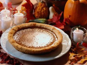 Pumpkin Pie for Thanksgiving by Kindra Clineff