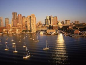 Skyline, Boston, MA by Kindra Clineff