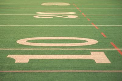 The Ten Yard Line on a Football Field