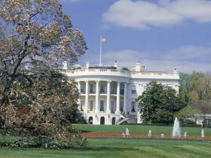 The White House in Spring, Washington DC by Kindra Clineff