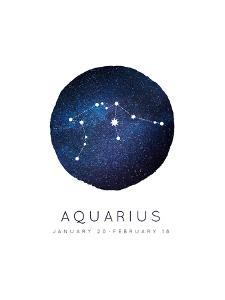 Aquarius Zodiac Constellation by Kindred Sol Collective