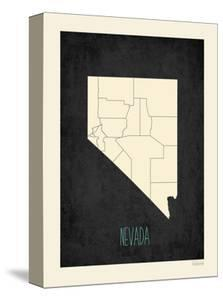 Black Map Nevada by Kindred Sol Collective